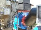 Шахтная зерносушилка с нагнетающими  вентиляторами  и двумя воздухонагревателями   MetalERG EKOPAL S 1000 и 750  на соломе_10