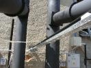 Шахтная зерносушилка с нагнетающими  вентиляторами  и двумя воздухонагревателями   MetalERG EKOPAL S 1000 и 750  на соломе_11