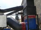 Шахтная зерносушилка с нагнетающими  вентиляторами  и двумя воздухонагревателями   MetalERG EKOPAL S 1000 и 750  на соломе_13