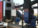 Шахтная зерносушилка с нагнетающими  вентиляторами  и двумя воздухонагревателями   MetalERG EKOPAL S 1000 и 750  на соломе_15
