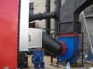 Шахтная зерносушилка с нагнетающими  вентиляторами  и двумя воздухонагревателями   MetalERG EKOPAL S 1000 и 750  на соломе_3